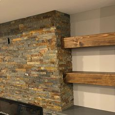 Contemporary and Rustic - Weave pattern wood wall art. Rustic Wood Walls, Rustic Wall Art, Wood Wall Art, Into The Woods, Floating Shelves Bathroom, Elegant Centerpieces, Fireplace Mantle, Wood Shelves, Interior Design Kitchen