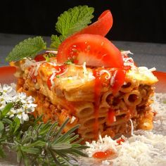 Egy finom Tepsis bolognai tészta ebédre vagy vacsorára? Tepsis bolognai tészta Receptek a Mindmegette.hu Recept gyűjteményében! Bologna, Lasagna, Food And Drink, Chicken, Ethnic Recipes, Lasagne, Buffalo Chicken, Cubs, Rooster