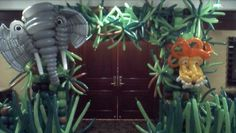 Jungle Entrance created by Balloon Squad USA