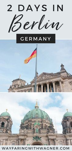 Whether you have only 1 day in Berlin, 2 days in Berlin, or want to take some day trips from Berlin, this Berlin itinerary has all the major landmarks and historical sites covered! #Germany #Berlin #EuropeTravelTips