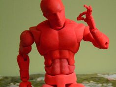 Open Source Action Figure with 70 Points of Articulation (aka Dexter) by jasonwelsh - Thingiverse