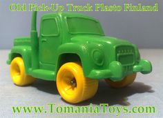 Plasto Big Pick-up Truck Finland, Trucks, Toys, Big, How To Make, Activity Toys, Clearance Toys, Truck, Gaming