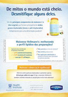 Assim é bem melhor, Hellmann's! Confira o conteúdo completo no www.fechandoziper.wordpress.com