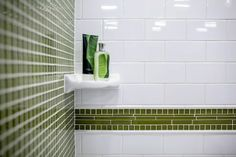 green - white