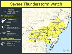 A severe thunderstorm watch has been issued for parts of DE, DC, MD, NJ, PA, VA until 5 PM EDTpic.twitter.com/iFWAenZ0z1 - https://blog.clairepeetz.com/a-severe-thunderstorm-watch-has-been-issued-for-parts-of-de-dc-md-nj-pa-va-until-5-pm-edtpic-twitter-comifwaenz0z1/