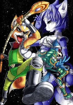 Starfox Adventures Fanart by Atyl by Atylx89.deviantart.com on @deviantART  Just replayed and beat this game!