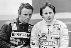 Rene Arnoux | Gilles Villenueve