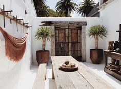 Terrace summer inspiration byCOCOON.com ~ Ibiza Spanish finca design ideas by #COCOON Dutch designer brand.