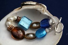 Boho chic nautical bracelet by littlethingsbyMoni on Etsy, $33.00