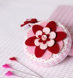 DIY Mother's Day : DIY Flower Tape Measure