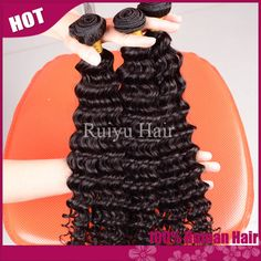 "RY hair:Grade 5A peruvian virgin hair deep wave 3pcs/4pcs lot free shipping,peruvian hair extension 8""-30"" human hair weave"