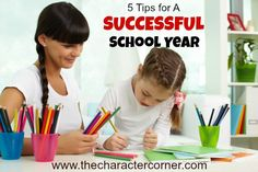 5 Tips for a Successful School Year