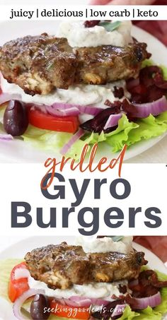 Low Carb Burger, Keto Burger, Tasty Burger, Barbecue Recipes, Grilling Recipes, Cooking Recipes, Recipes For The Grill, Vegetarian Grilling, Healthy Grilling