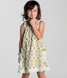Indian-Inspired Sundress for Girl l Beachwear for Children l www.CarolinaDesigns.com