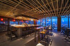 Lighting Scheme: Hutong Shard (London) / Into Lighting & David Yeo. Mejor sistema de iluminación 2014 Design Award.