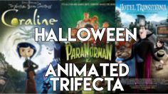 This is my quick top 3 animations to watch on or around Halloween - Coraline, ParaNorman and Hotel Transylvania! Pretty much everyone else will be focusing o. Animation, Watch, Halloween, Youtube, Movie Posters, Top, Clock, Film Poster, Popcorn Posters