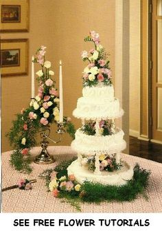 wedding table decoration ideas | Roses and miniature carnation are mixed with sprengeri greenery for a ...