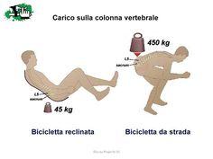 diferencia entre una recumbent y bici comun