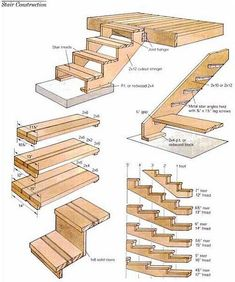 landscaping ideas stair | How To Build Deck Stairs and Deck Steps #home #decor