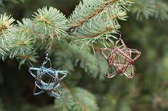 DIY: star wire ornament