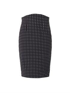 Eye-print silk pencil skirt | Emilio De La Morena | MATCHESFAS...