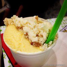 Salted Egg Yolk ice cream from Tom's Palette
