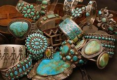 I've always loved turquoise.  Maybe I lived out west in a former life....