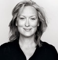 """It's my favorite one because they scraped all the crap off my face,"" Streep says of this 2002 portrait."