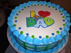 Dq cakes.  Dairy Queen.  Father's Day Happy Fathers Day Cake, Mothers Day Cake, Cupcake Birthday Cake, Cupcake Cakes, Cupcakes, Dairy Queen Cake, Pirate Ship Cakes, Dad Cake, Elsa Cakes