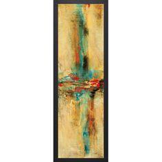Nancy Villarreal 'Santos Equilibro l' Framed Artwork - Overstock™ Shopping - Top Rated Prints