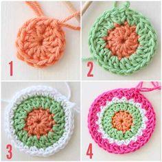 Crochet mega mandala cushion pattern by redagape Crochet Mandala Pattern, Crochet Stitches Patterns, Crochet Doilies, Crochet Flowers, Crochet Feather, Crochet Cushions, Yarn Crafts, Arm Tattoo, Crochet Projects