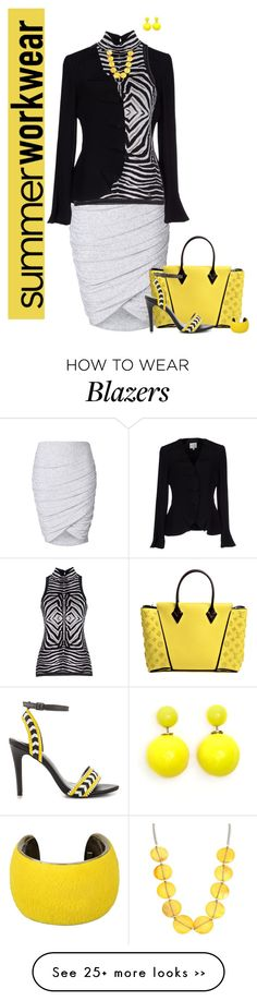 """""""Summer Workwear"""" by chileez on Polyvore"""