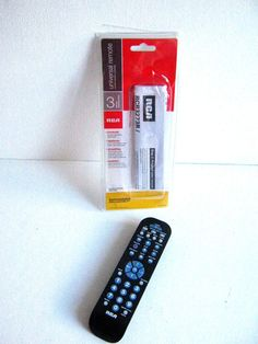 RCA RCR3273R Three-Device Universal Remote #RCA