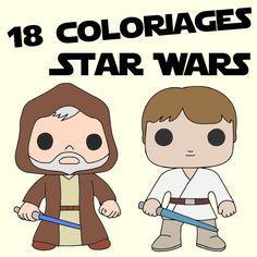 18 coloriages des personnages Star Wars que vous ne trouverez nulle part ailleurs !