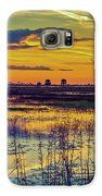 Sunrise At A Wildlife Paradise Galaxy S6 Case by Bill and Deb Hayes