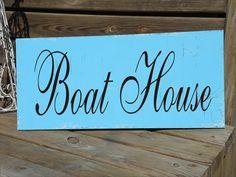 Boat HOUSE  Summer House  Beach House Beach por SuperiorStencils
