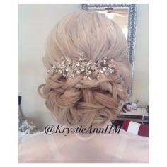 Hair: www.krystieann.com  Wedding hair, bridal hair, wedding updo, bridal updo, punta cana bride, punta cana wedding, majestic resorts, platinum hair, blonde hair, blonde updo