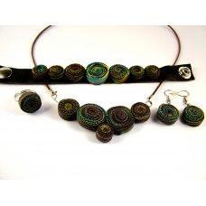 Spirálos ékszerszett 01 Beaded Bracelets, Jewelry, Fashion, Jewlery, Moda, Jewels, La Mode, Jewerly, Fasion