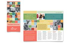 Non Profit Association for Children Brochure Template Design | StockLayouts