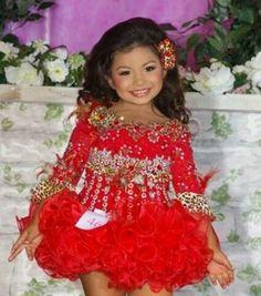 Nancy Landers Glitz Dress National Pageant Attire