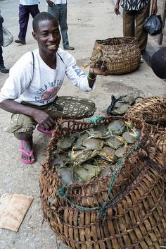 Fresh crabs ~ Mozambique
