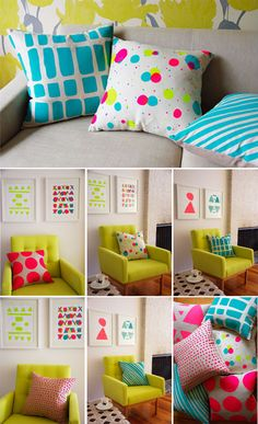 Funky Home Decor wow ideas - Terrific inspirations to arrange a supe pleasant styling. Bedroom Crafts, Diy Home Decor Bedroom, Diy Home Decor On A Budget, Bedroom Ideas, Simple Closet, Funky Home Decor, Sofa Covers, Cushion Covers, Pillow Covers