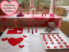 Montessori Valentine's Activities for Toddler's