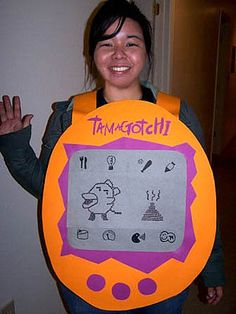 Tamagotchi Costume, easy for Halloween