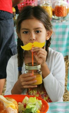 Lorax Themed Fruit Farm Birthday Party - Kara's Party Ideas - The Place for All Things Party