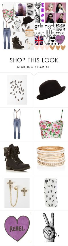 """Girls night Out With Little Mix"" by kennedey-lynn-freeman ❤ liked on Polyvore featuring Urban Outfitters, James Jeans, Head Over Heels by Dune, Forever New, Daytrip and Aéropostale"