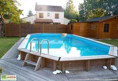 piscine en promotion, piscine en bois