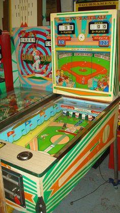 Vintage Baseball Arcade game