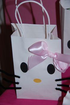 DIY Hello Kitty Gift Bag