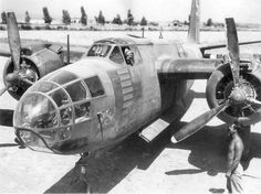 An A-20C with the 47 Bomber Group, Date and Location unknown.